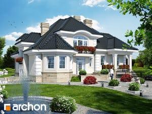 Проект дома ARCHON+ Резиденция в Мышленицах 2 (П)