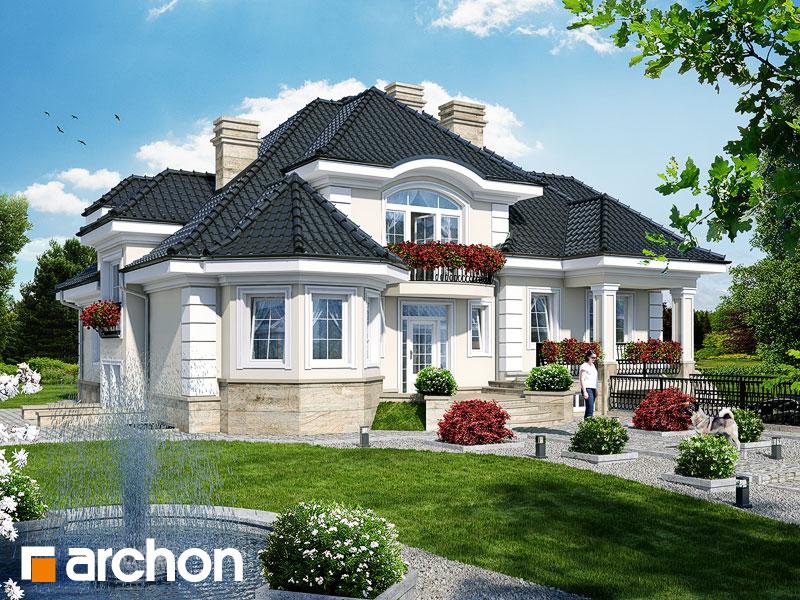 Проект дома ARCHON+ Резиденция в Мышленицах 2 (П) - Визуализация 1
