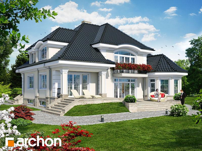 Проект дома ARCHON+ Резиденция в Мышленицах 2 (П) - Визуализация 2