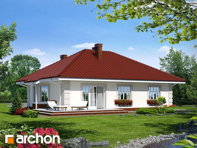Проект дома ARCHON+ Дом под красной рябиной - Визуализация 2