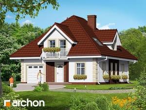 Проект дома ARCHON+ Дом в боярышнике