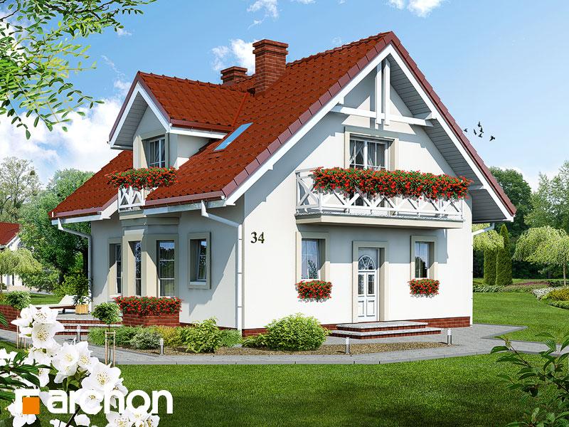 Дом в рододендронах - Визуализация 1