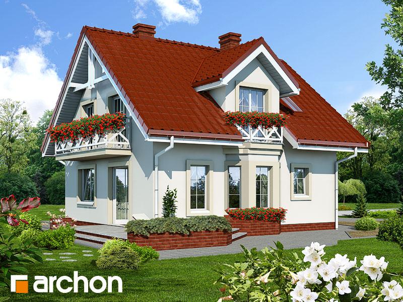 Дом в рододендронах - Визуализация 2