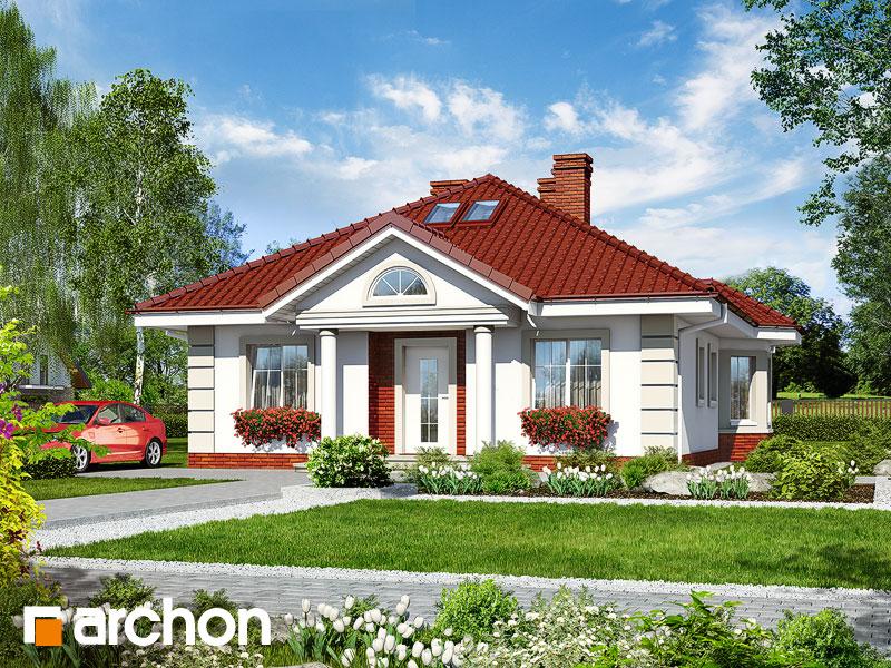 Проект дома ARCHON+ Дом у потока - Визуализация 1