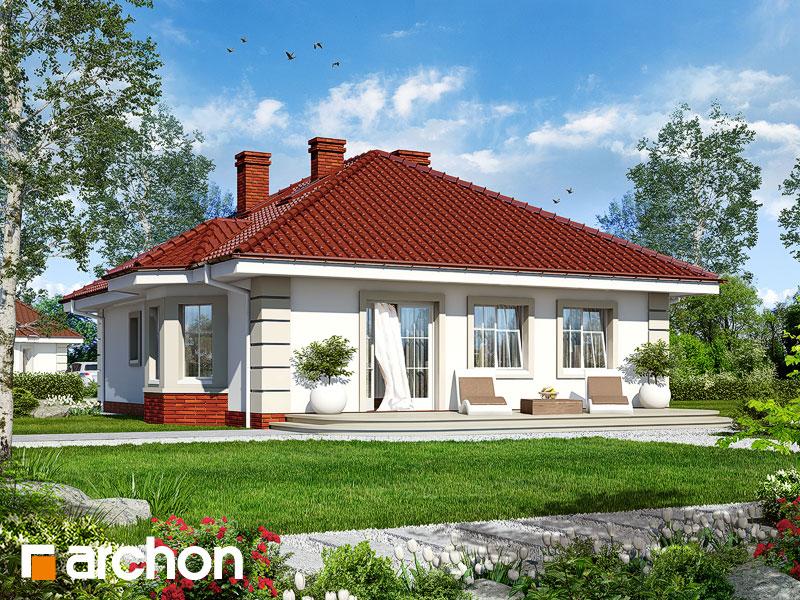 Проект дома ARCHON+ Дом у потока - Визуализация 2
