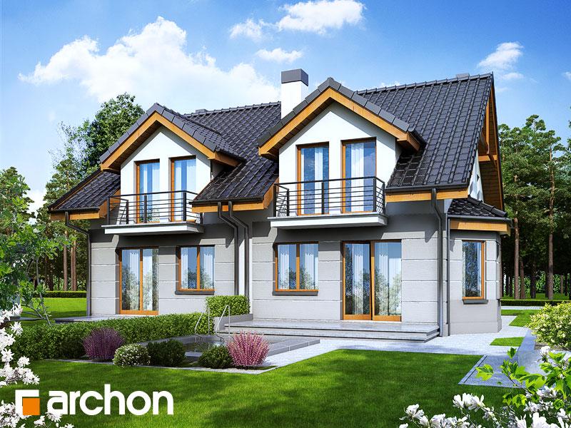 Проект дома ARCHON+ Дом под гинко 2 - Визуализация 2