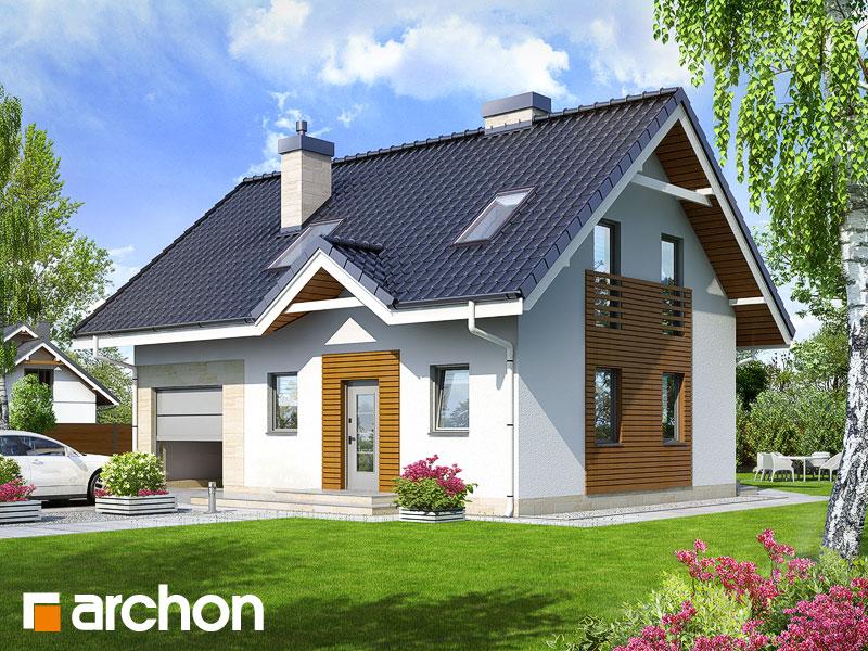 Дом в бруснике 2 - Визуализация 1