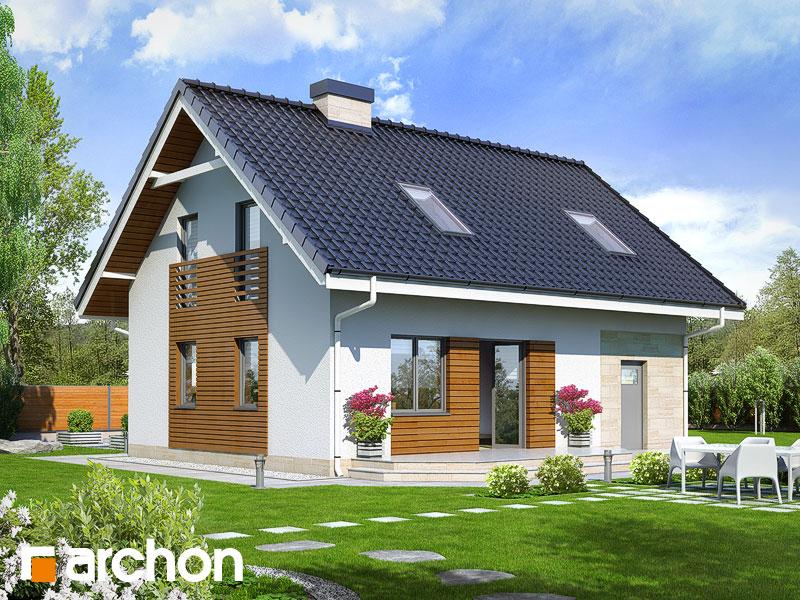 Дом в бруснике 2 - Визуализация 2