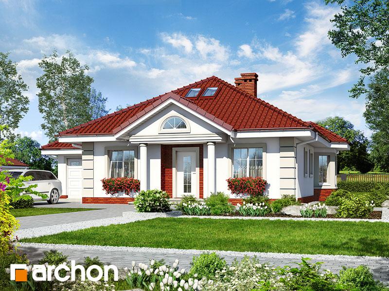 Проект дома ARCHON+ Дом у потока 2 - Визуализация 1