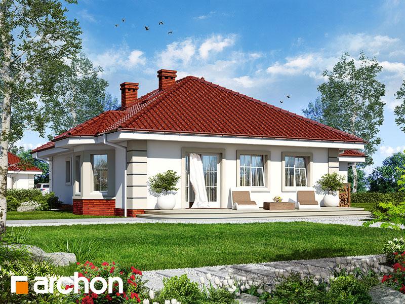 Проект дома ARCHON+ Дом у потока 2 - Визуализация 2