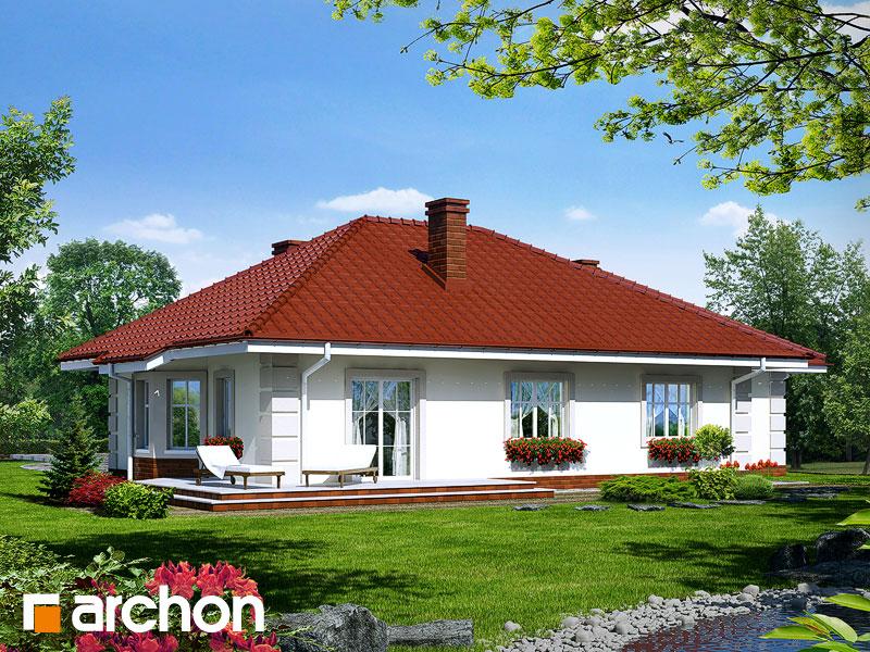 Проект дома ARCHON+ Дом под красной рябиной (Г) - Визуализация 2