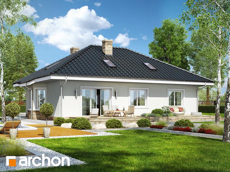 Проект дома ARCHON+ Дом под красной рябиной 12 - Визуализация 2