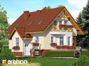 Проект дома ARCHON+ Дом в шафране