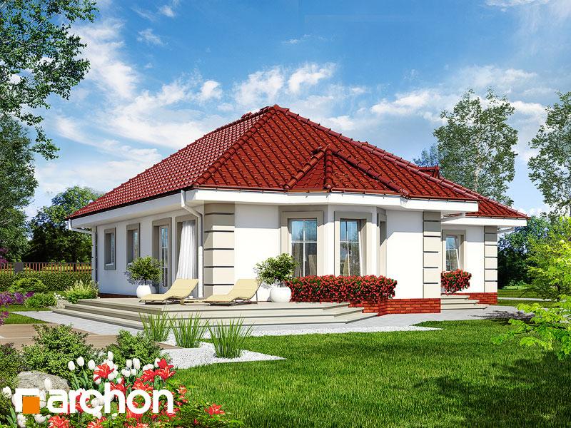 Проект дома ARCHON+ Дом в пустырнике - Визуализация 2