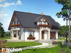 Проект дома ARCHON+ Дом в бархатцах 2
