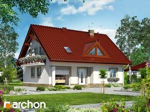 Проект дома ARCHON+ Дом под фикусом