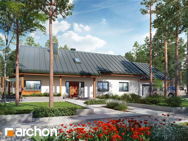 Проект дома ARCHON+ Дом в мекинтошах 5 (Г2) - Визуализация 2