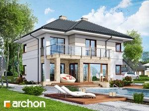 Проект дома ARCHON+ Вилла Элиза 2