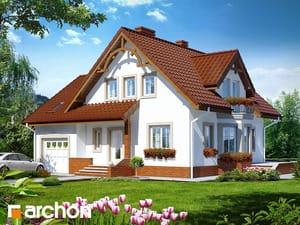 Проект дома ARCHON+ Дом в тамарисках 2