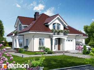 Проект дома ARCHON+ Дом в тимьяне 2