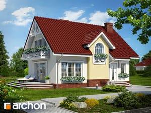 Проект дома ARCHON+ Дом в солодках