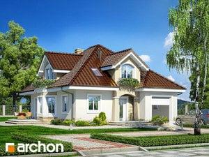 Проект дома ARCHON+ Дом в зорьках