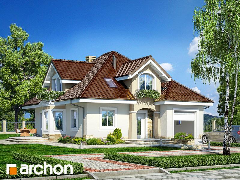Проект дома ARCHON+ Дом в зорьках - Визуализация 1