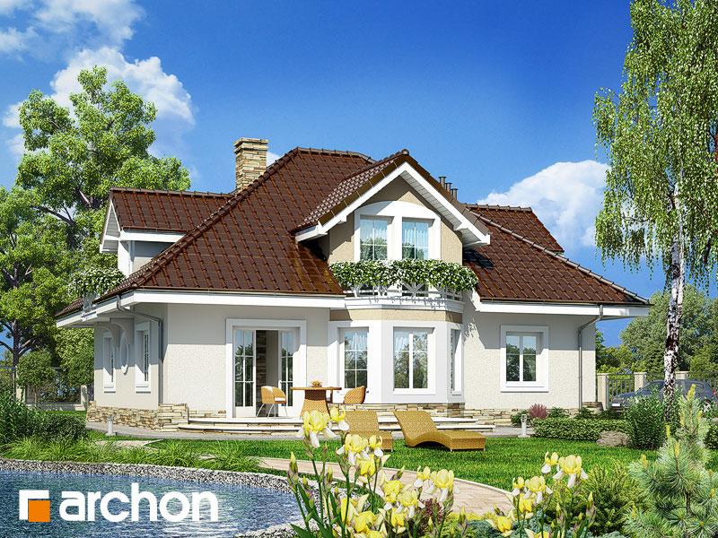 Проект дома ARCHON+ Дом в зорьках - Визуализация 2