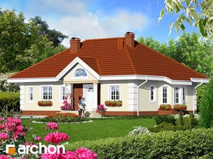 Проект дома ARCHON+ Дом в оливках