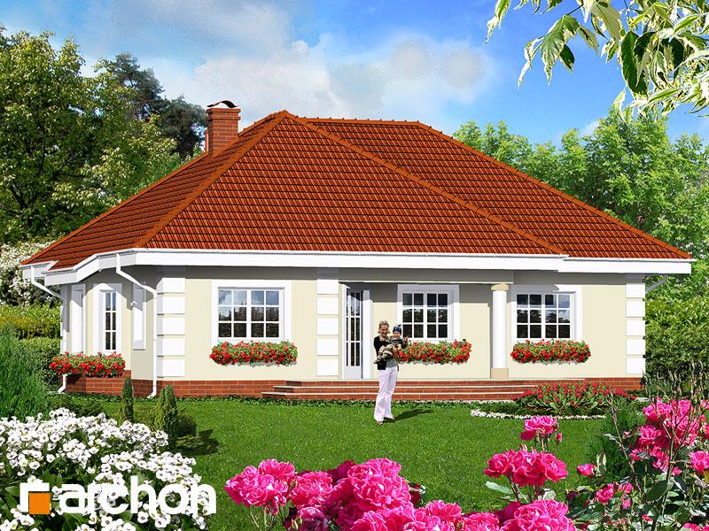 Проект дома ARCHON+ Дом в оливках - Визуализация 2