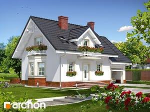 Проект дома ARCHON+ Дом в рододендронах 15 ver.2