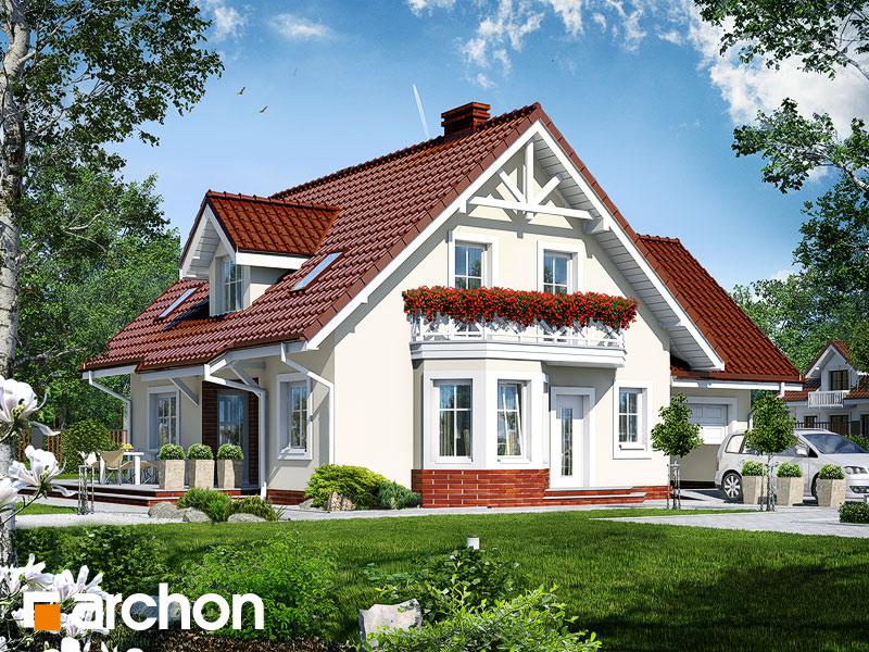 Проект дома ARCHON+ Дом под фисташковым деревом (Г) - Визуализация 1