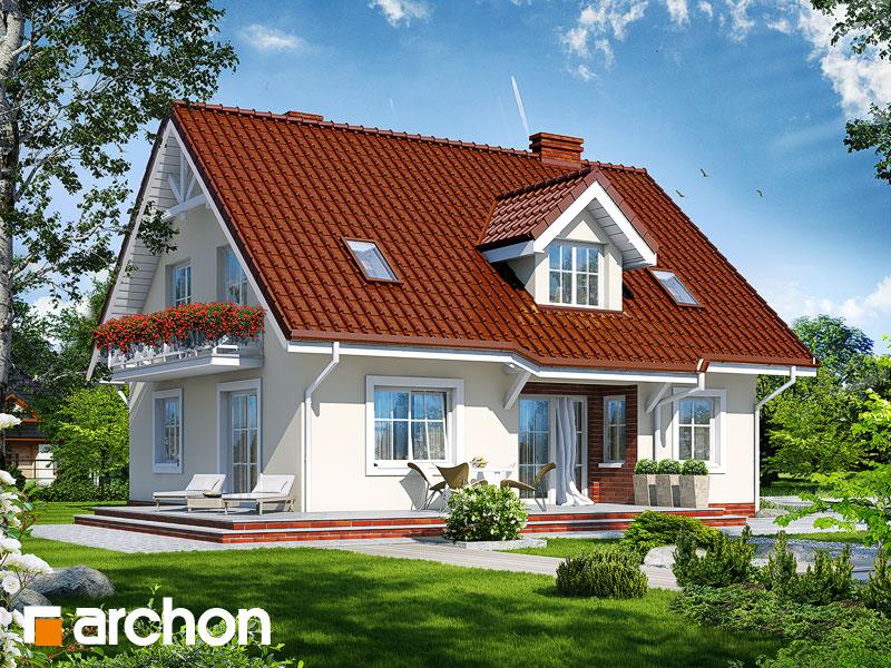Проект дома ARCHON+ Дом под фисташковым деревом (Г) - Визуализация 2