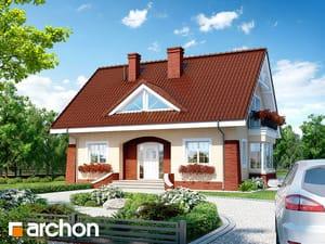 Проект дома ARCHON+ Дом в клеверках 2