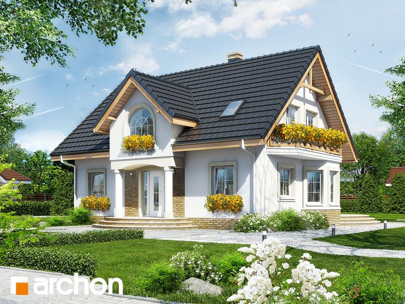 Проект дома ARCHON+ Дом в мирабелле - Визуализация 1