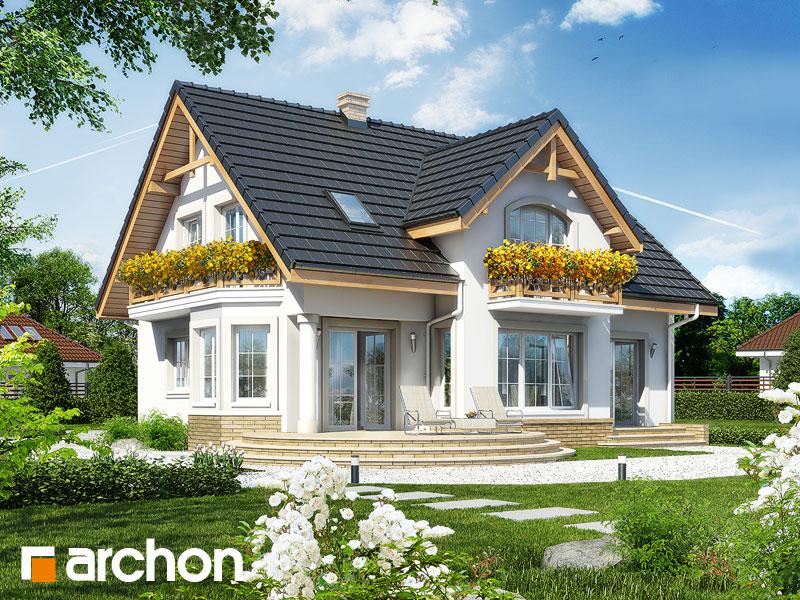 Проект дома ARCHON+ Дом в мирабелле - Визуализация 2