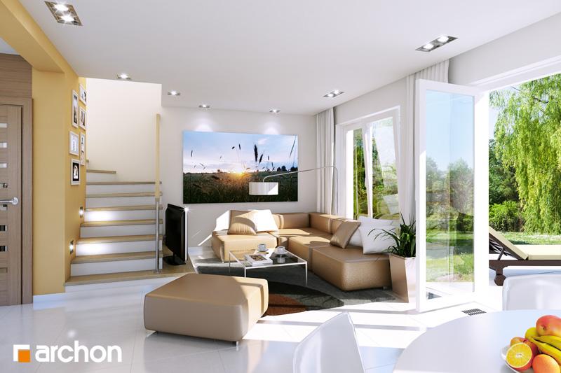 Проект дома ARCHON+ Дом в винограде (Г) - Интерьеры