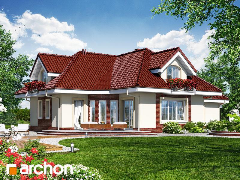 Проект дома ARCHON+ Дом в алоэ 3 - Визуализация 2