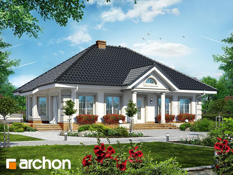 Проект дома ARCHON+ Дом под красной рябиной 4 - Визуализация 1