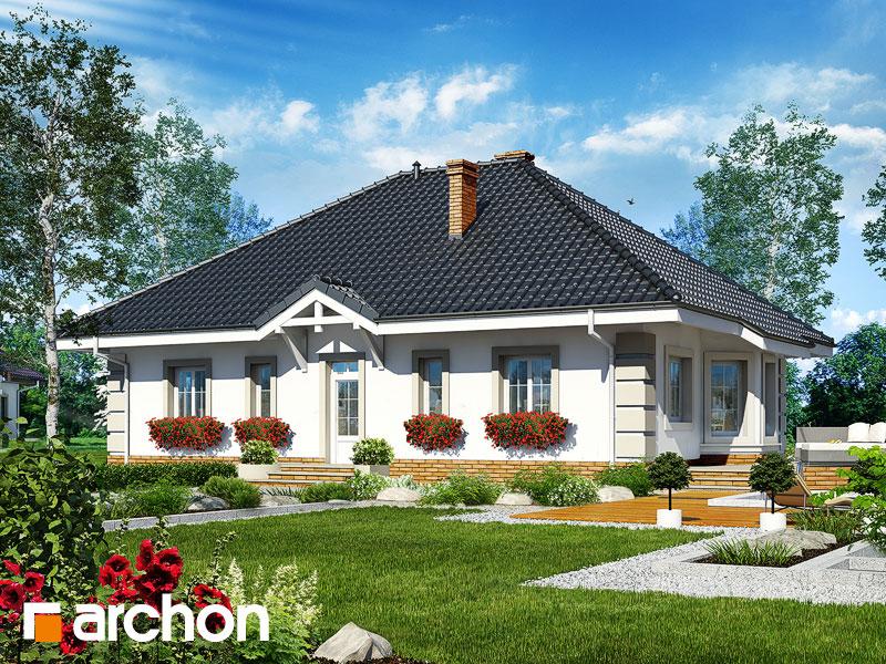 Проект дома ARCHON+ Дом под красной рябиной 4 - Визуализация 2