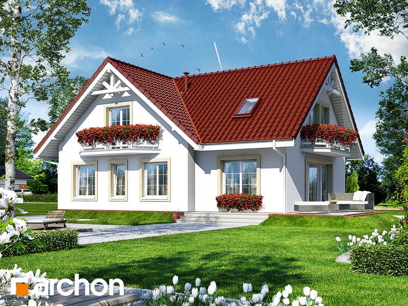 Проект дома ARCHON+ Дом в кизиле - Визуализация 2