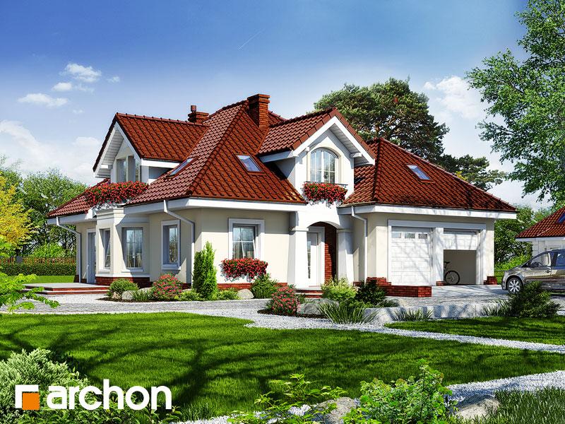 Проект дома ARCHON+ Дом в зорьках (Г2) - Визуализация 1