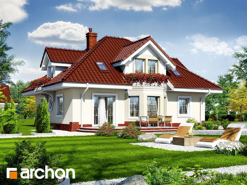 Проект дома ARCHON+ Дом в зорьках (Г2) - Визуализация 2