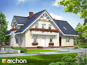 Проект дома ARCHON+ Дом в боровиках