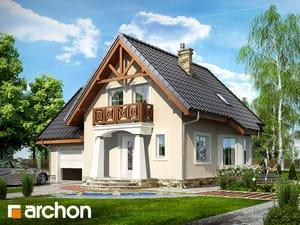 Проект дома ARCHON+ Дом в винограде 2