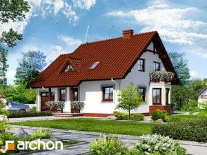 Проект дома ARCHON+ Дом под буками 4 (Г)