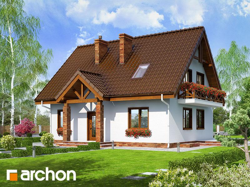 Проект дома ARCHON+ Дом в примулах (П) - Визуализация 1