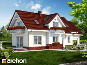 Проект дома ARCHON+ Дом в люпине