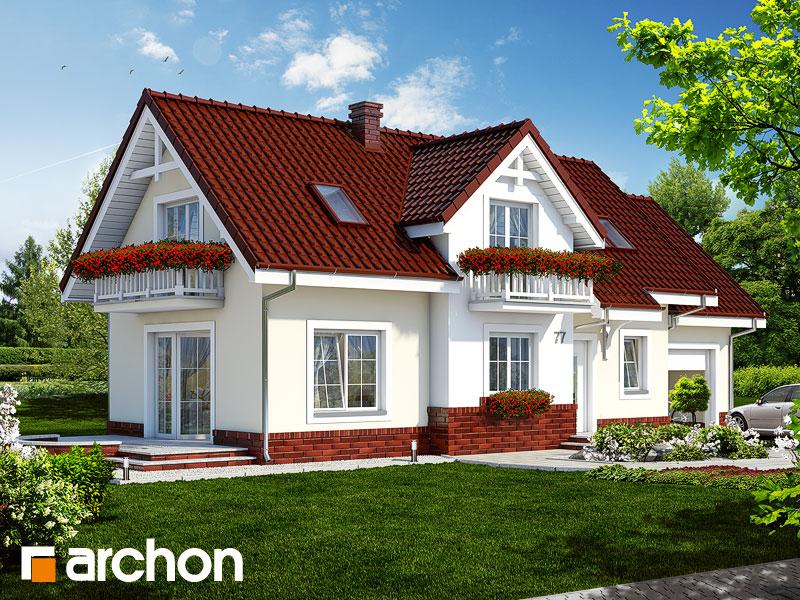 Проект дома ARCHON+ Дом в люпине - Визуализация 1