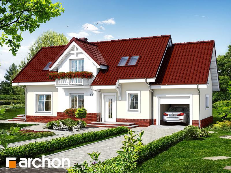 Проект дома ARCHON+ Дом в люпине - Визуализация 2